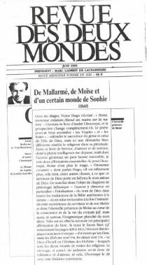 Revue des Deux Mondes, Juin 1995 (2)