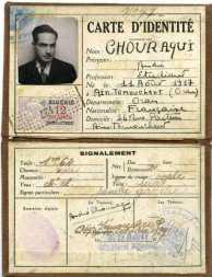 Carte d'identité d'étudiant, 11 octobre 1939. Aïn Témouchent.