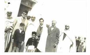 Juge de paix à Bou Saâda en 1947.