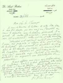 Lettre d'un arabe de Bethlehem, 29 janvier 1972.