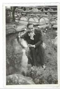 Au parc Montsouris, 1938.