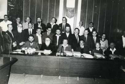 Avec le Conseil municipal